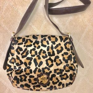 Tory Burch Women's Leopard City Mini Bag